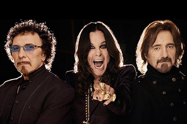 Ozzy Osbourne, Tony Iommi e Geezer Butler: pais de tudo o que é pesado