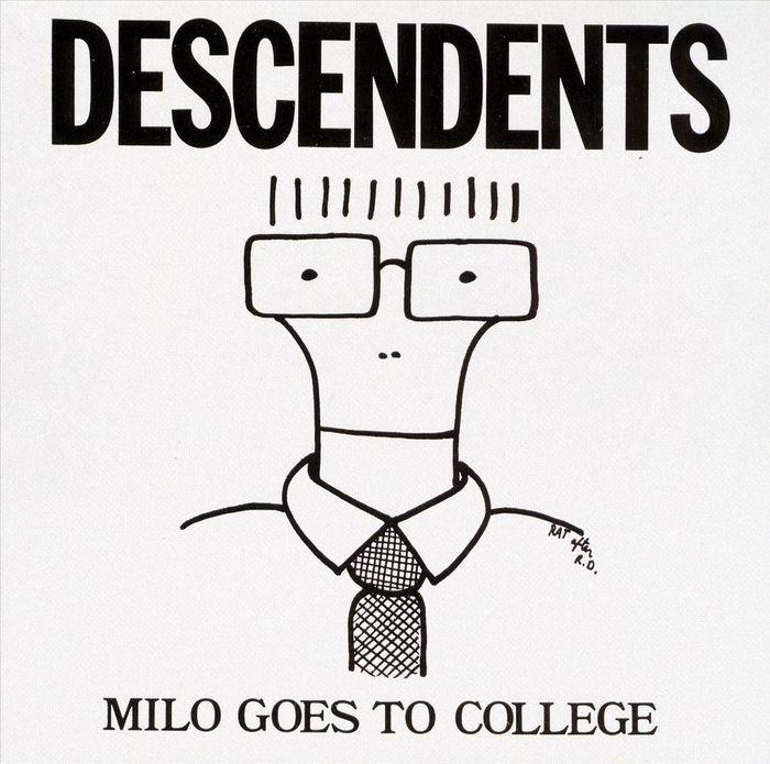 Caricatura do vocalista Milo que estampou a capa desse e de outros álbuns e virou a marca registrada da banda.