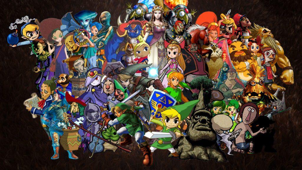 Personagens da franquia Legend of Zelda