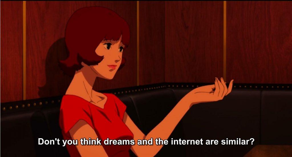 Você não acha que sonhos e a internet são parecidos?