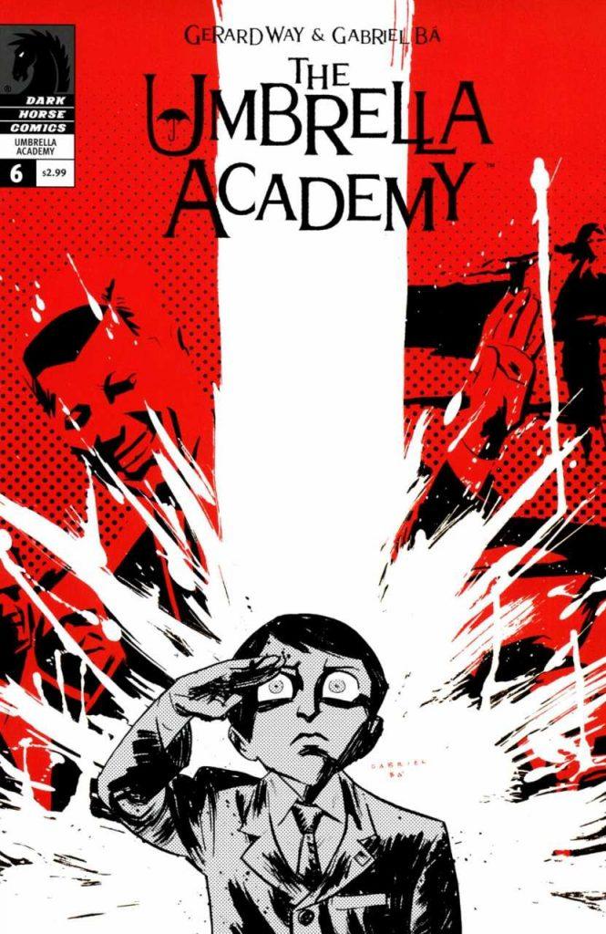 Volume da edição americana de The Umbrella Academy (Foto: Reprodução)
