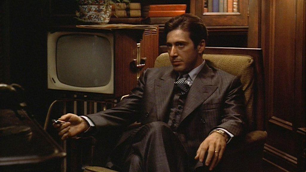Al Pacino como Michael: o diabo veste terno