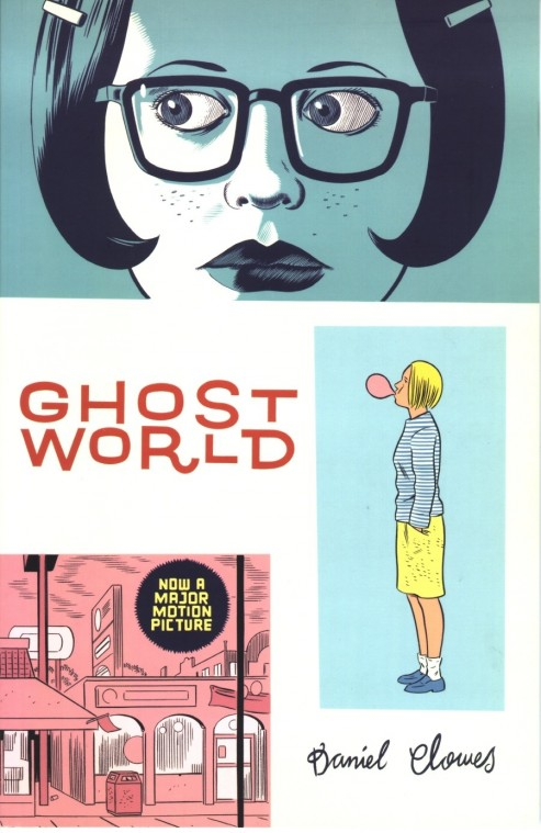 Capa de Ghost World: olhares perdidos
