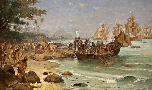 Desembarque de Cabral em Porto Seguro, de Oscar Pereira da Silva (1922)