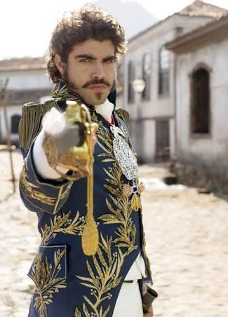 Caio Castro como Dom Pedro I