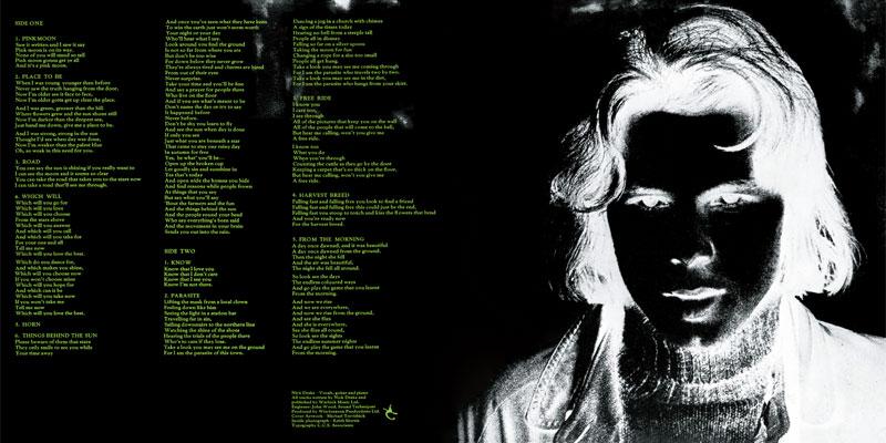 Reprodução do encarte físico do álbum