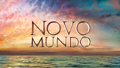 Logotipo da novela Mundo Novo