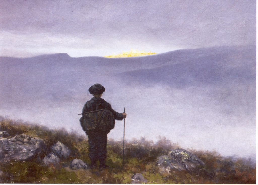 Soria Moria, do pintor norueguês Theodor Kittelsen