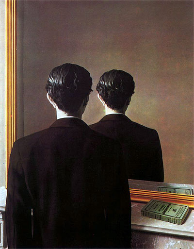A Reprodução Interdita – Retrato de Edward James (1934), de Magritte