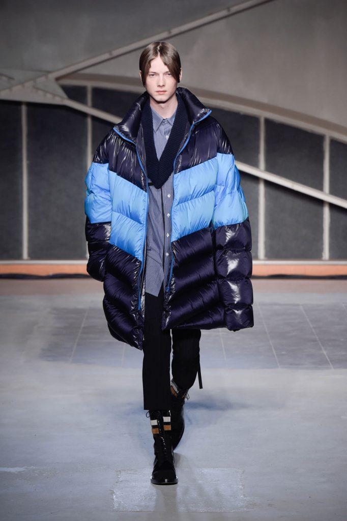 As jaquetas massivas da coleção.