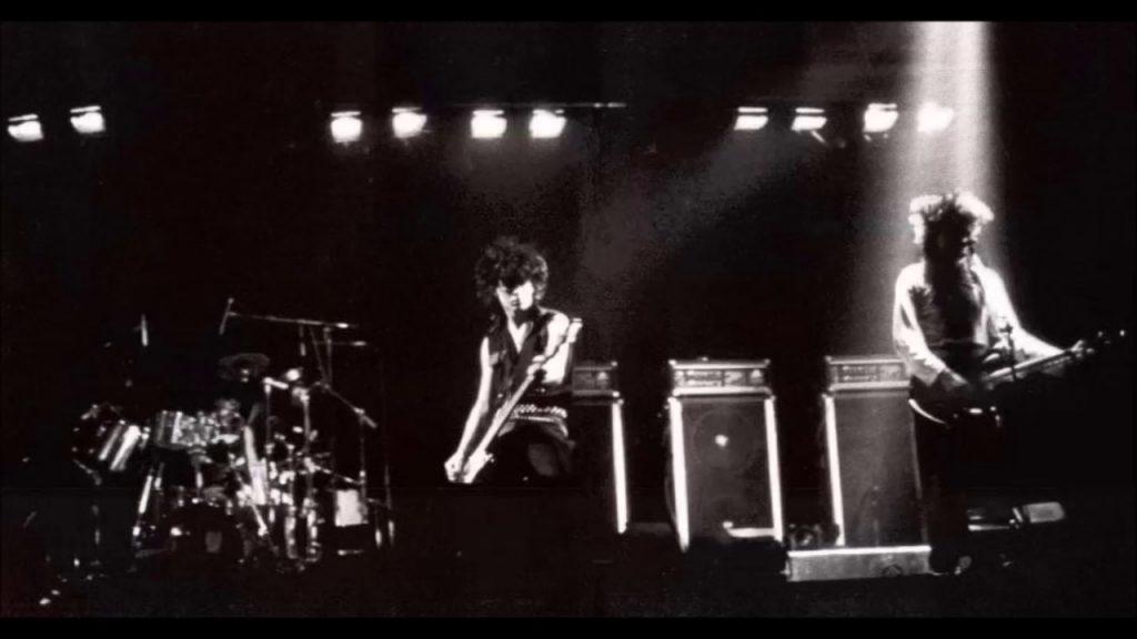 The Cure ao vivo, em 1982