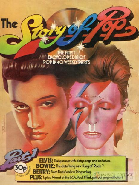 Elvis: o greaser com canções sujas e sem futuro / Bowie: o perturbador novo Rei do Rock?
