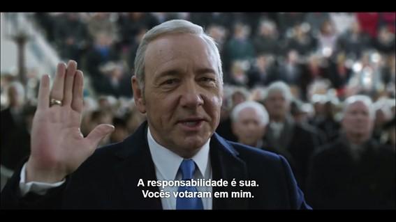 Frank Underwood ou Michel Temer? Devido ao realismo proposto pela série, não é difícil imaginar o atual presidente brasileiro dizendo esse tipo de frase.
