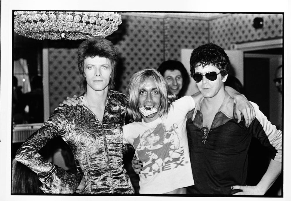 Ziggy, Iggy e Reed: só a nata