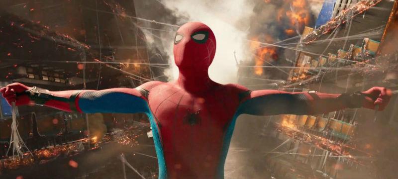 Referências a cenas clássicas da trilogia de Raimi estão presentes, como a cena do metrô de Spider Man 2/ Marvel Studios/Sony Pictures