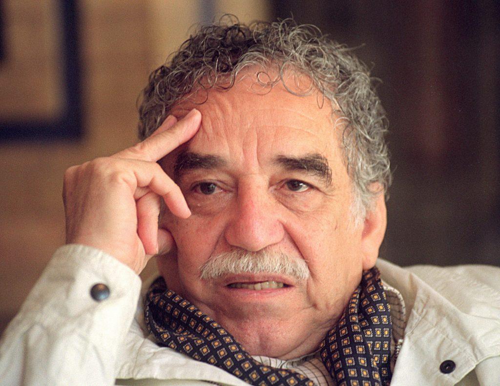 Gabriel García Márquez tentando se lembrar que Aureliano é esse. Fonte: Agência EFE