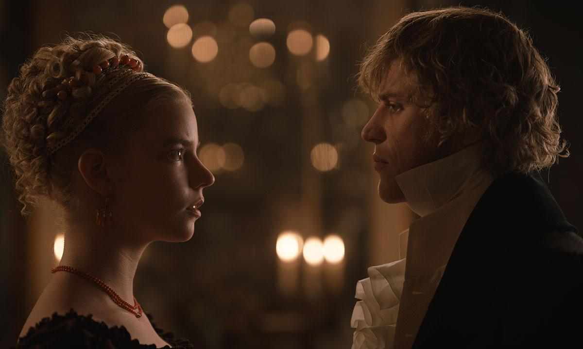 Emma e Knightley frente a frente.