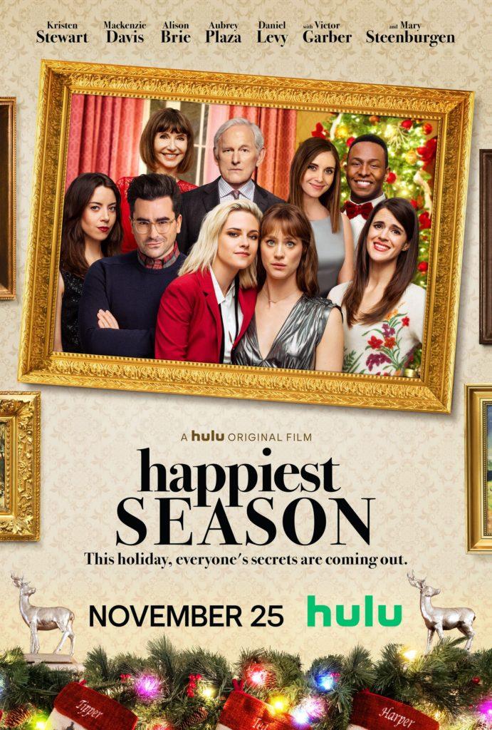 Na imagem, o póster do filme. Com os personagens principais, e Abby e Harper no centro.