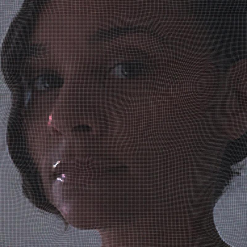 Capa do disco com o rosto da cantora em primeiro plano e fundo neutro.