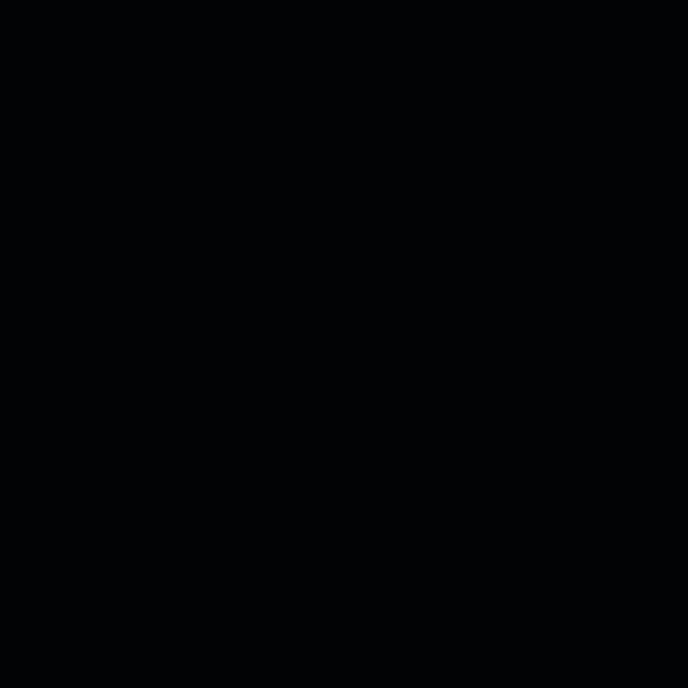 Capa do CD Donda, do cantor Kanye West. Imagem quadrada, inteiramente preta.